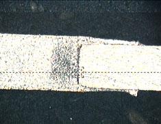Weak Tungsten Weld